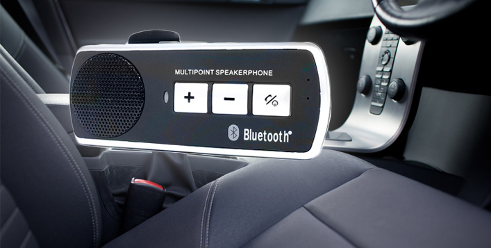 Receive calls with the built-in DSP noise suppression and echo eliminate function for clear calls in your car and more using the Bluetooth Car Speaker from HST Dubai for AED 69 (Value AED 200) – Handsfree experience for ultimate car driving safety!