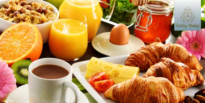International Breakfast Open Buffet