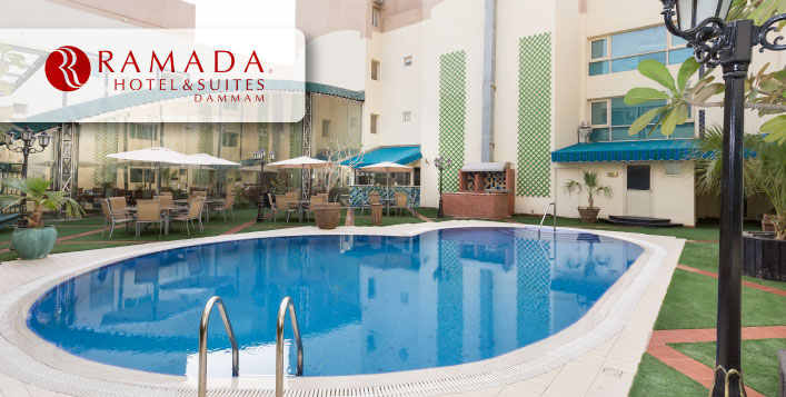 Ramada Dammam Hotel - Meal included!