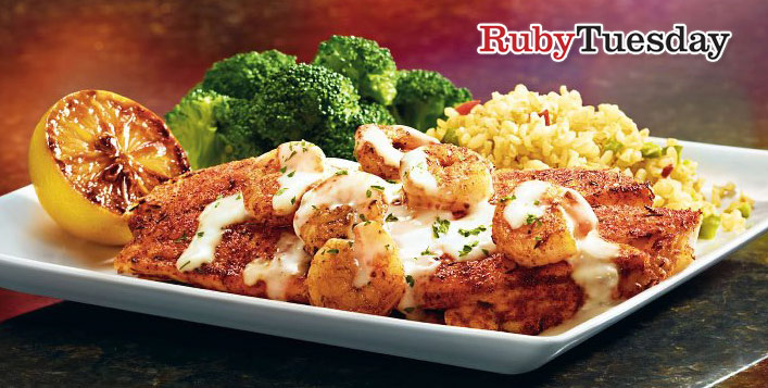 Set Menu Sohour For 2 At Ruby Tuesday Cobone