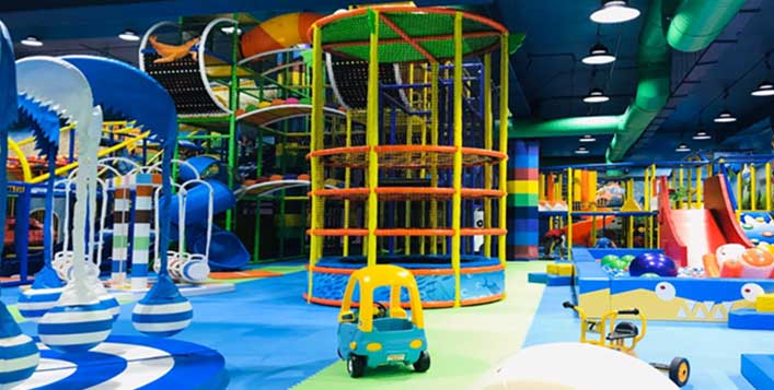 A safe Play area is waiting for you!