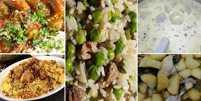 Meat Okra, Chicken Biryani, Mansaf & More