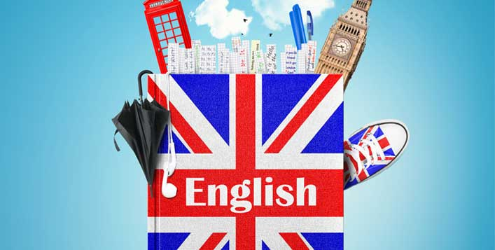 6 English levels available