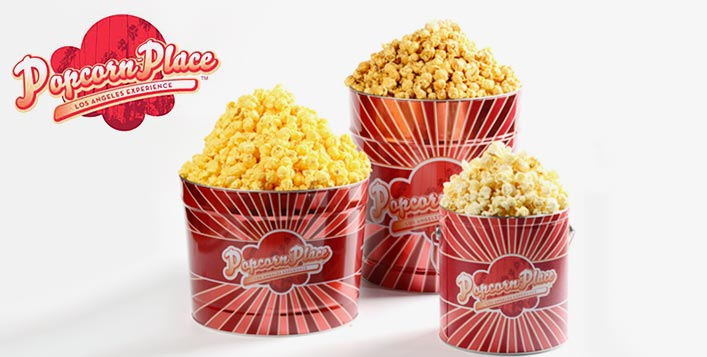 More than 27 popcorn flavors & special cakes