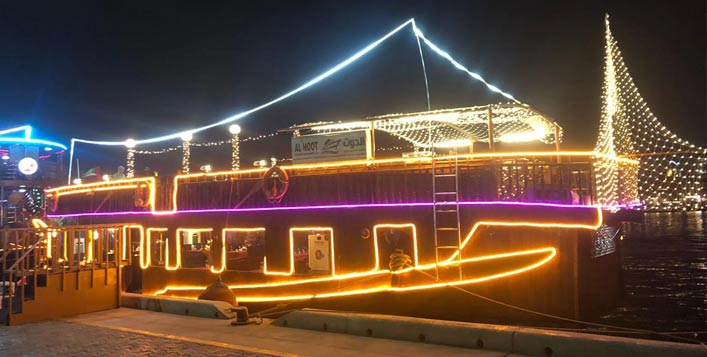 Till September by Al Hoot Floating Restaurant