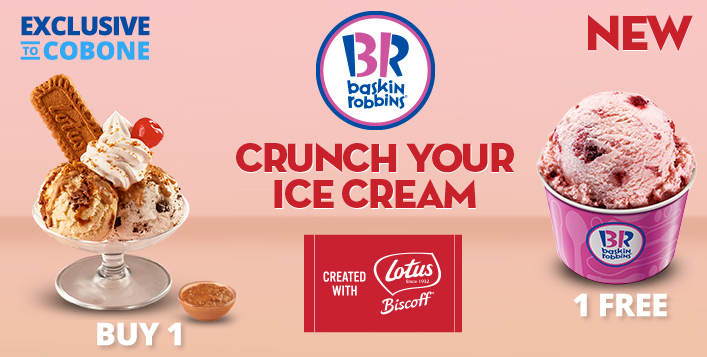 Introducing Double Value Lotus Biscoff Sundae