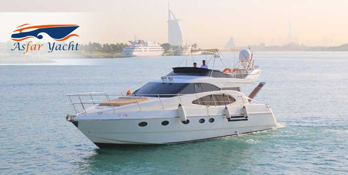 Cruise for up to 6 hours by Asfar Yachts