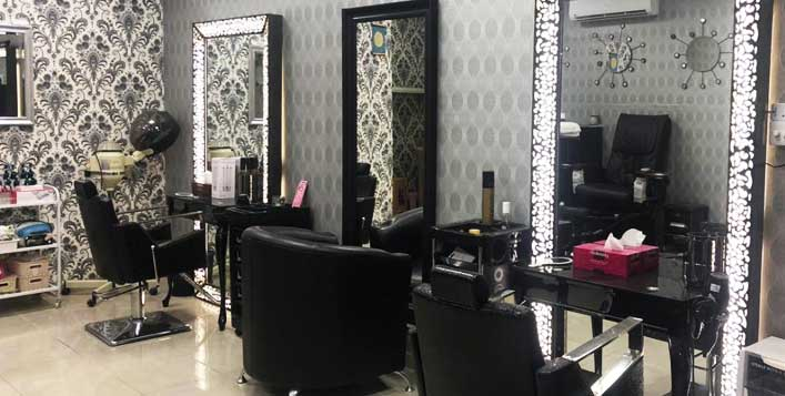 Hair care, nails, waxing and threading