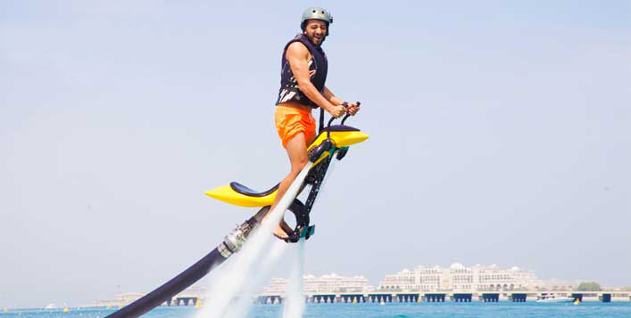 Choose from Jetpack, Jetovator or Flyboard