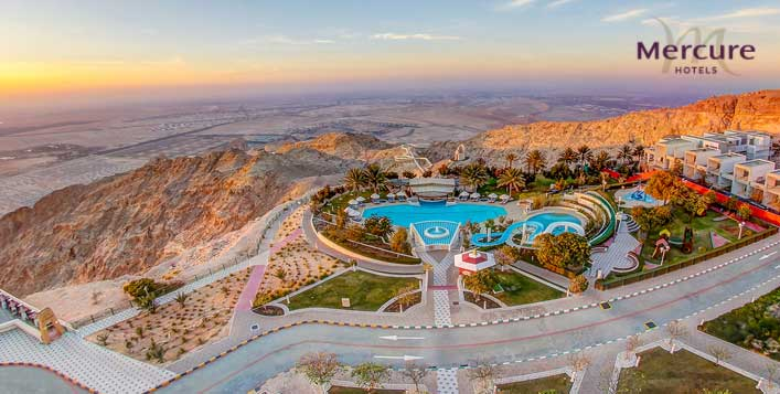 1-Night stay with Al Ain Zoo tickets