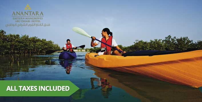Stay with meals, kayak tour, boat tour & more