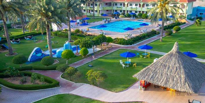 1-Night stay at Flamingo Beach Resort