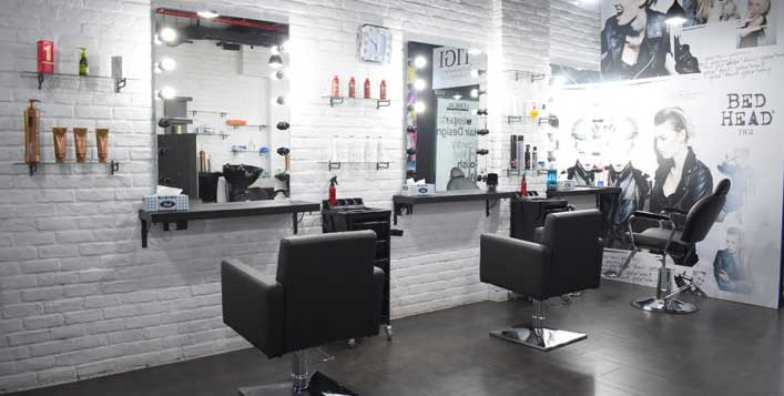 Haircut, colour, waxing, threading and more!
