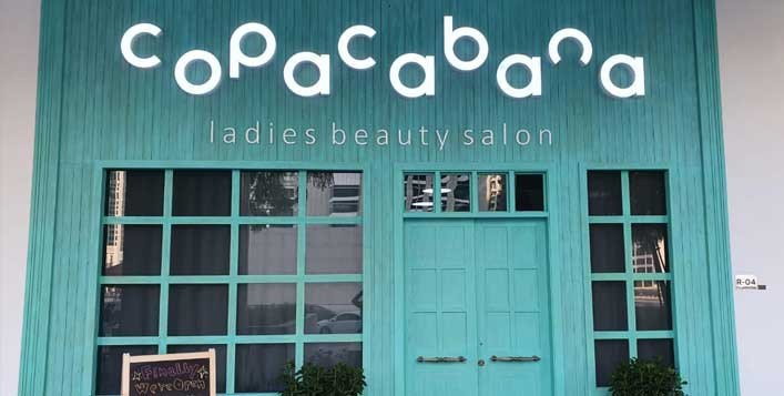 Daily at Copacabana Ladies Beauty Salon