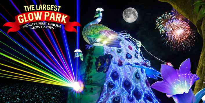 Dinosaur, Art Park, Ice Park & Magical Park