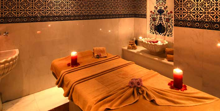 Single & couple options at Jasmine Spa