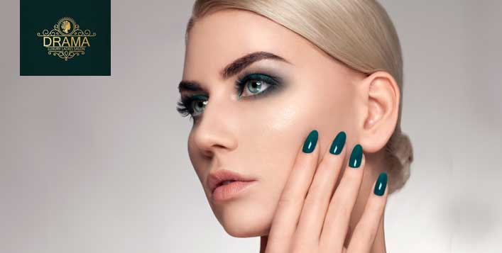 Classic and Gelish are available