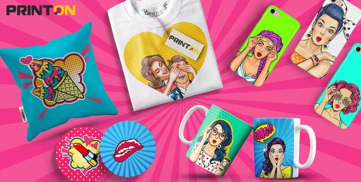 Customised gifts, items, photo prints & more