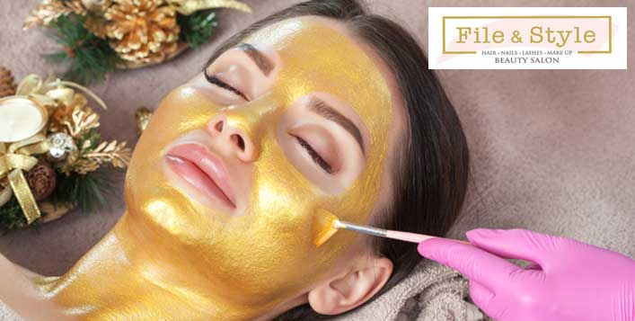 Rejuvenating, Brightening or Gold facial