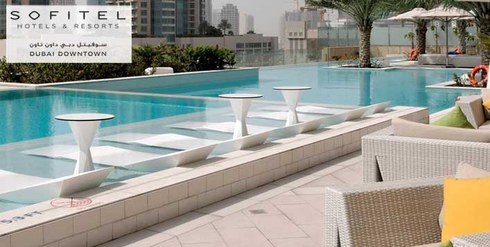 Daily at 5* Sofitel Dubai Downtown Hotel