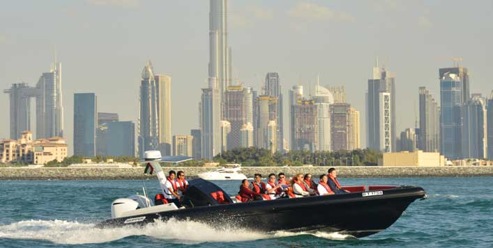 The Black Boat Sightseeing Speedboat Cruise