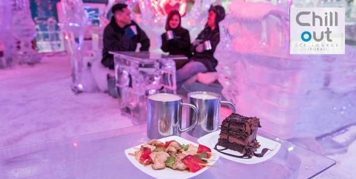 Chillout Ice Lounge Entry, Food and Drink