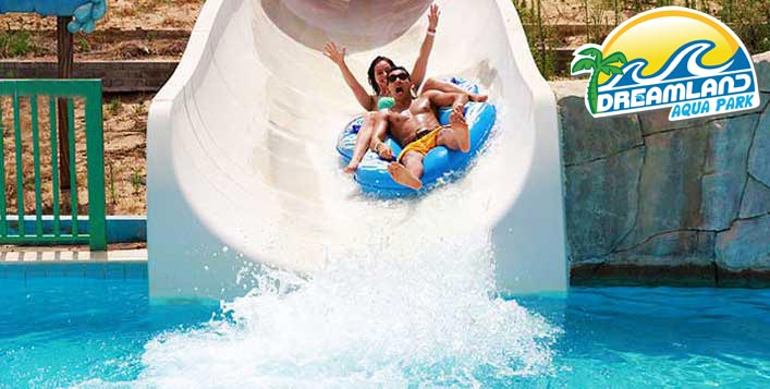 Enjoy unlimited access to all water rides