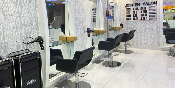 Blowdry, hair treatment, hair colour & more