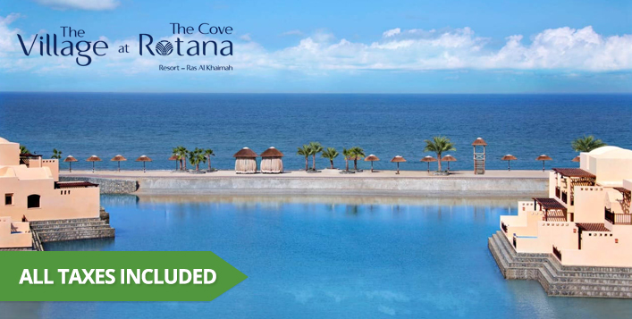 All-Inclusive stay for a family of 3!