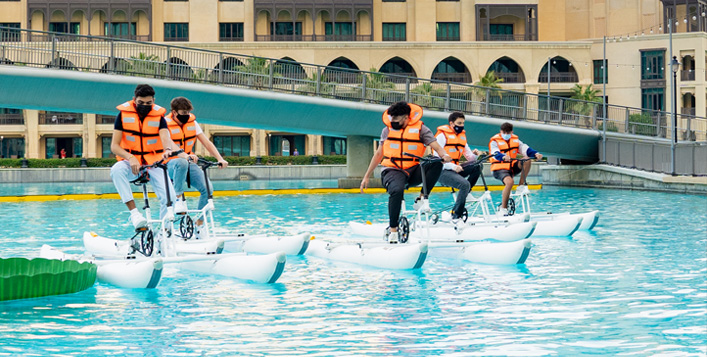 Water Biking, Kayaking Or Boating