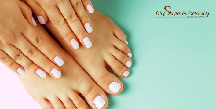 Classic or Gelish + Foot spa