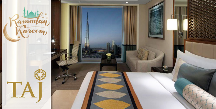 Burj Khalifa view room available