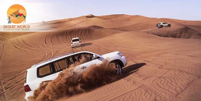 Dune bashing, BBQ, transportation & more