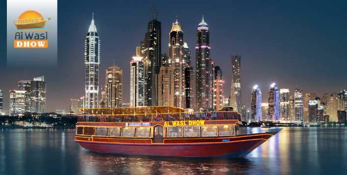 Marina Dhow Cruise with Dinner Buffet