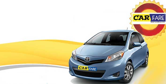 Car Fare Rent A Car for 1 Day or 1 Week