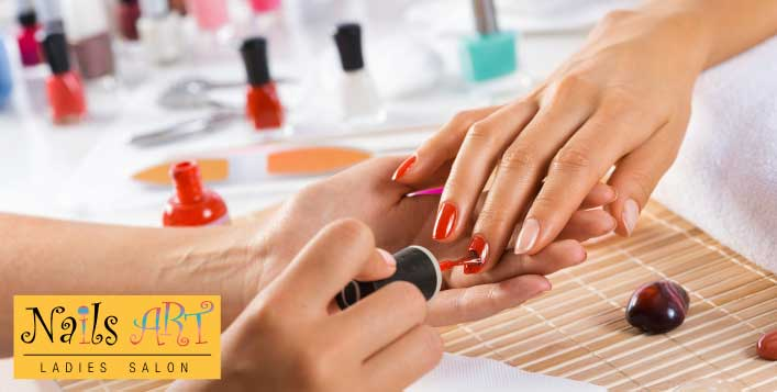 Get your nails Done @ Nails Art Ladies Salon