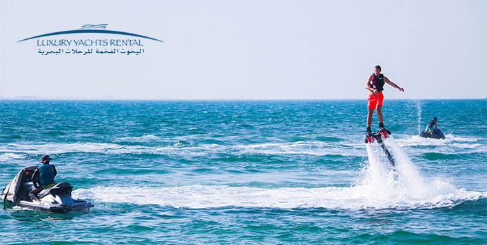 Up to 1-hour of flyboarding at Jumeirah 5
