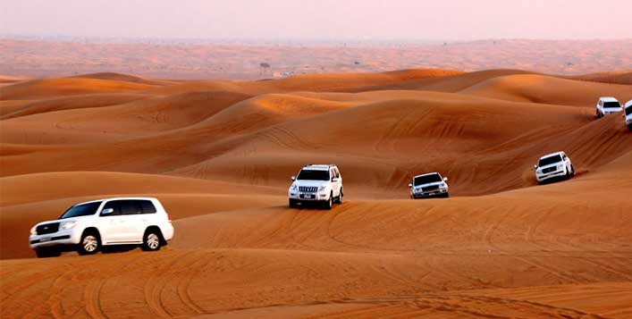 Optional quad biking by Red Dunes Tourism