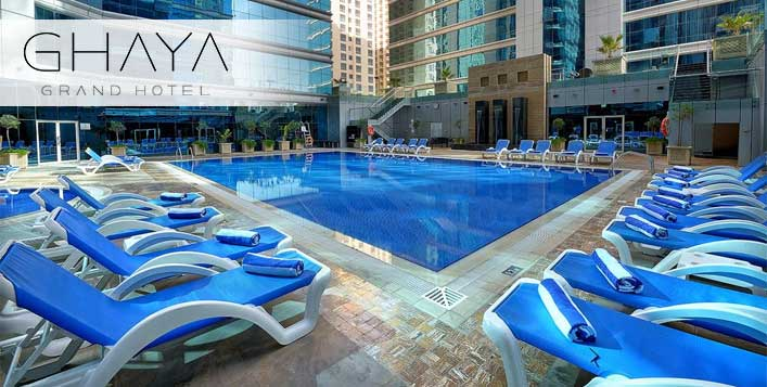 5* Ghaya Grand Hotel Pool and Gym Access