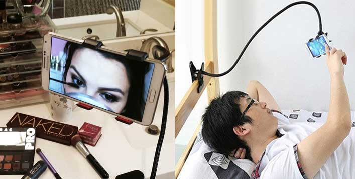 Hands-free Mobile or Tablet Holder