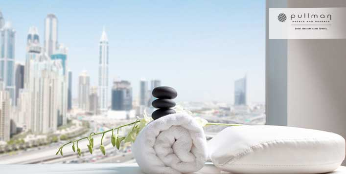 Relax at Pullman Dubai Jumeirah Lakes Towers