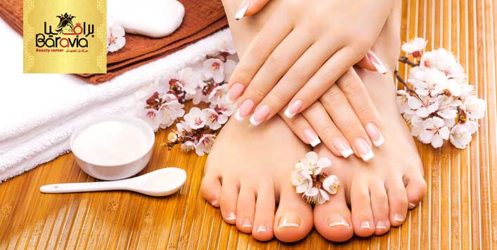 Options for foot scrub & relaxation treatment