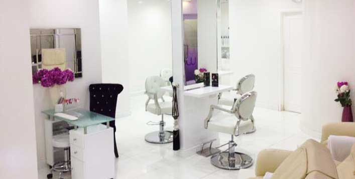 Hair packages at JLT
