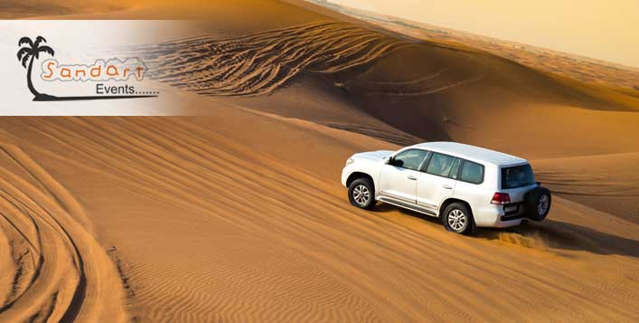 Evening Desert Safari + BBQ Dinner Buffet