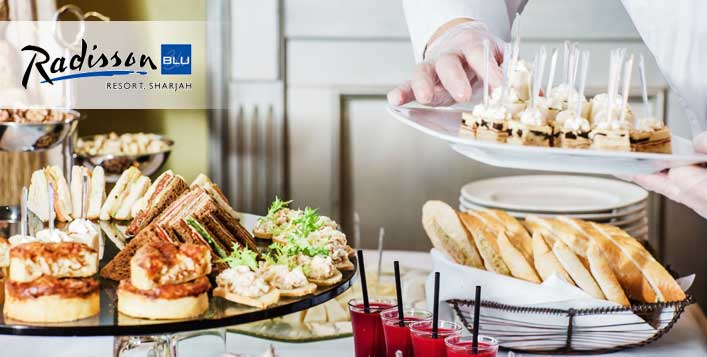 5* Friday Brunch @Radisson Blu Resort Sharjah
