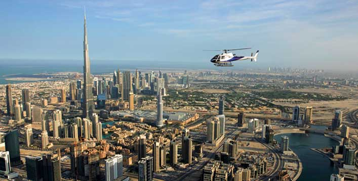 12, 17, 22 or 40-Minute helicopter ride