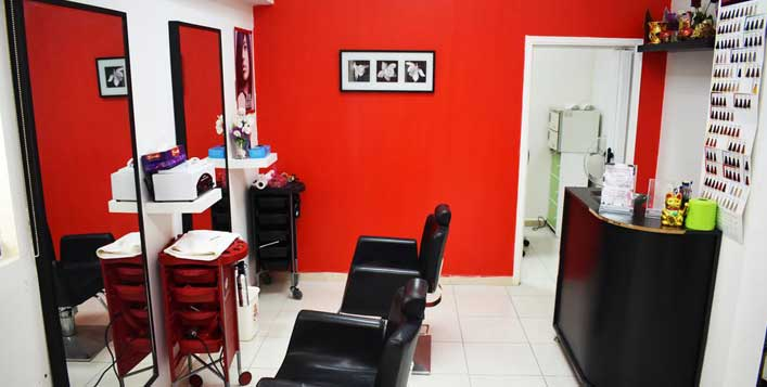 Optional hair colour & cut, FGI Beauty Salon