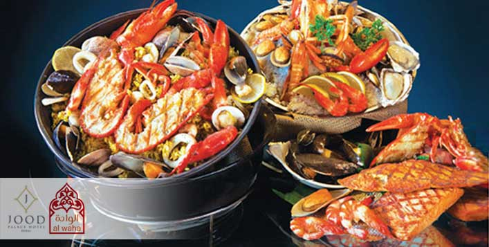 5* Jood Palace Hotel Tuesday Seafood Buffet