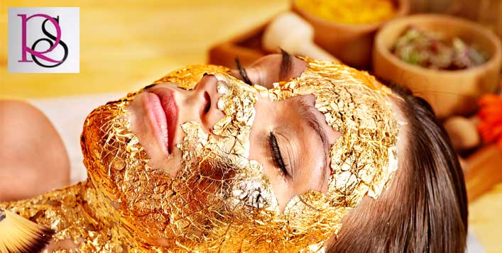 Gold facial, gold body scrub and more