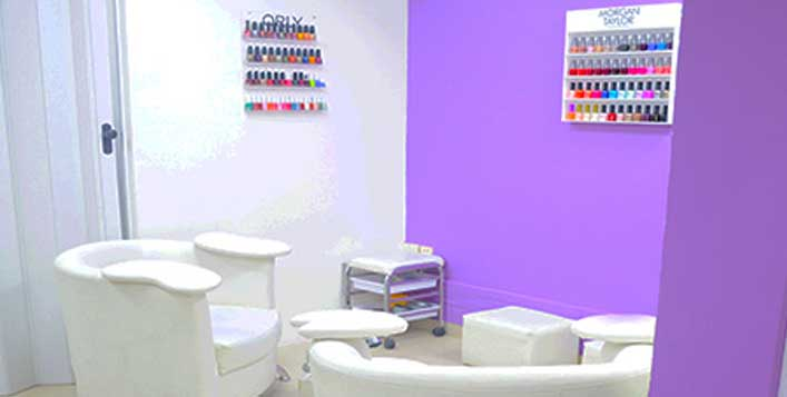 Mani-Pedi Choices @ Shine N Glow Ladies Salon